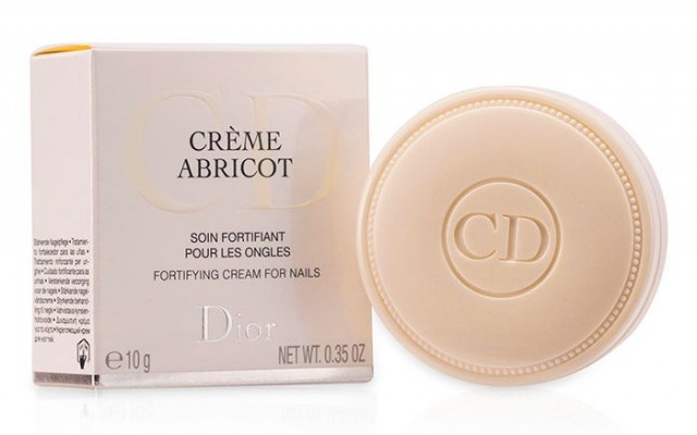 Nährpräparat für Nägel Creme Abricot von Dior.