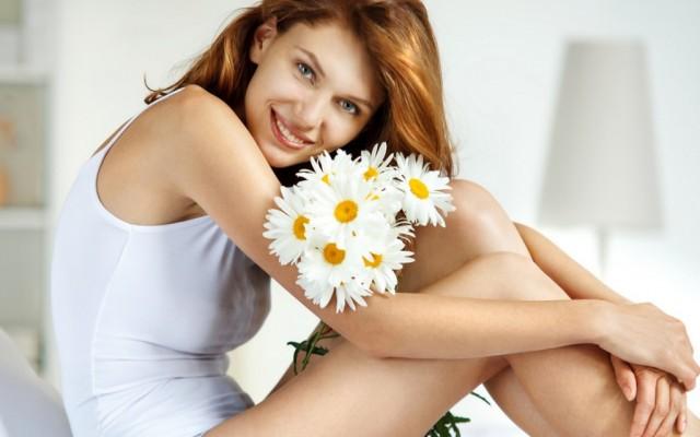 DIY: Creme us Kamille für empfindliche, fettige und gemischte Haut.