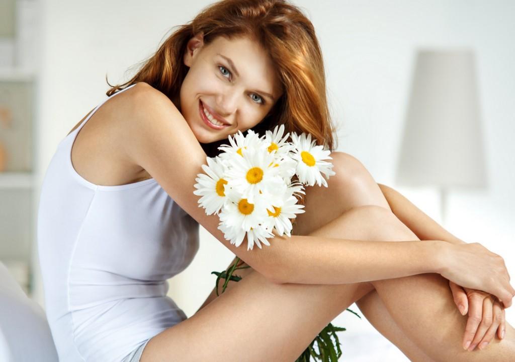DIY Creme us Kamille für empfindliche, fettige und gemischte Haut