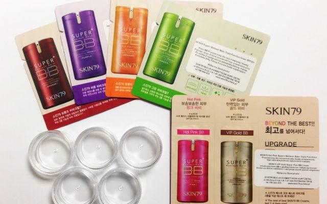 BB-Cremes von SKIN79 – Vergleichung der Kosmetikprodukte
