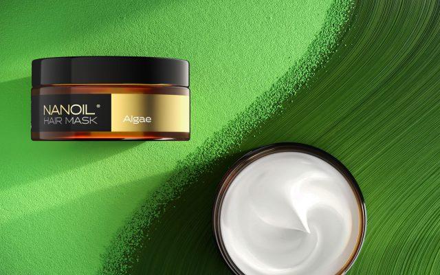 Algen in der Haarpflege. Verwenden Sie Nanoil Haarmaske mit Algen