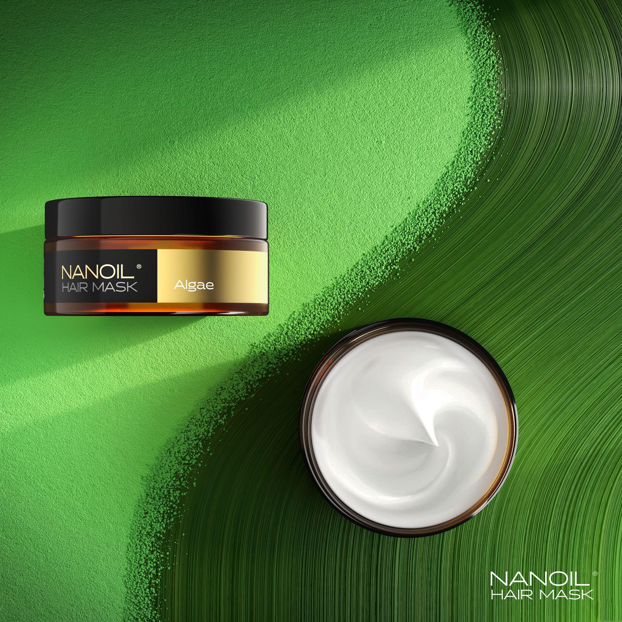 Nanoil Maske mit Algen für Haare